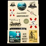 Lok-Jäger-Sticker