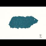 """Siebdruck """"Meerschweinchen"""" (Moni Port) + POLLE #1"""