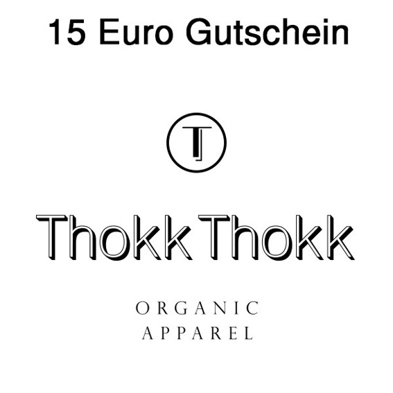 15€-Gutschein für Thokk Thokk Organic Apparel