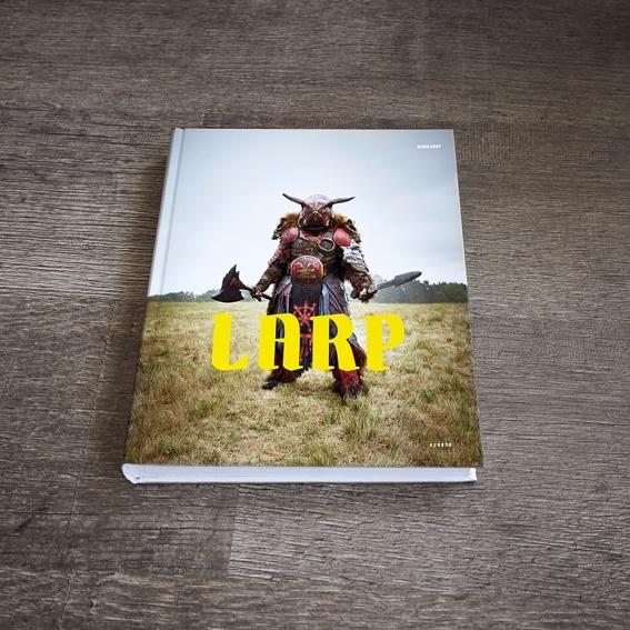 The LARP Book, signed by the artist + Fine-Art-Print printed on A4 Hamemuehle Photorag Ultra Smooth 305g, numbered and signed by the artist, framed
