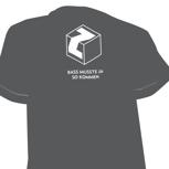 T-Shirt mit Zuckerwürfel  + Bass musste ja so kommen (Siebdruck)