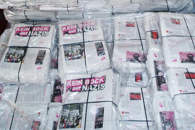 Kostenlose Schülerzeitung gegen Rechts
