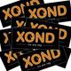XOND-Aufkleberset (10 Stk.)
