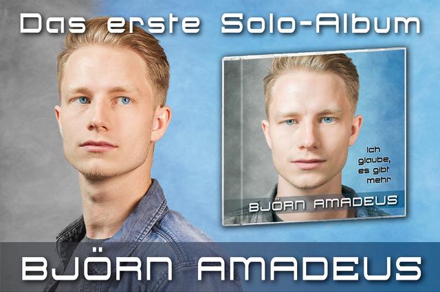 Björn Amadeus - Erstes Solo-Album