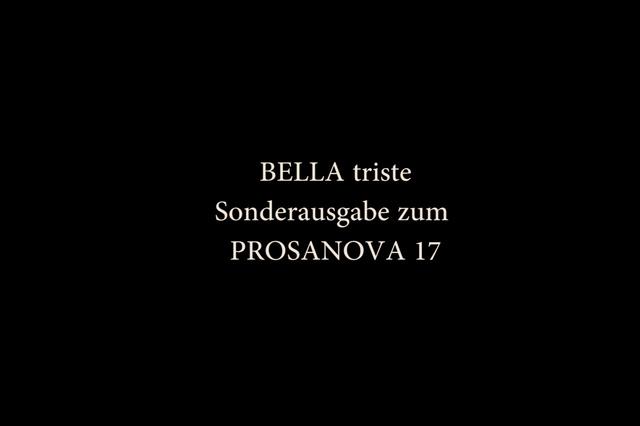 BELLA triste - PROSANOVA | 17 Sonderausgabe