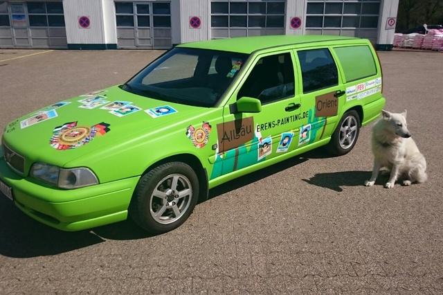 Die Rallye für den guten Zweck - Team 45
