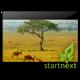 Panorama von der Landschaft Ugandas + Herzliches Dankeschön vom Team
