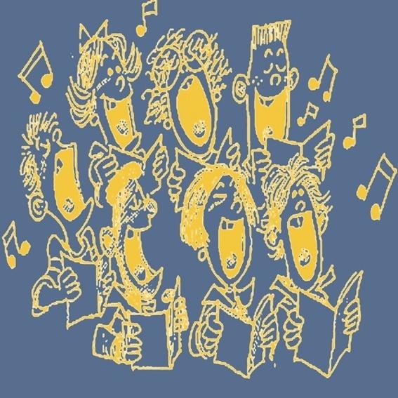 Chor auf dem Album