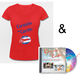"VIP-Paket: Fan-Shirt ""Corazón del Caribe"" + neue CD"