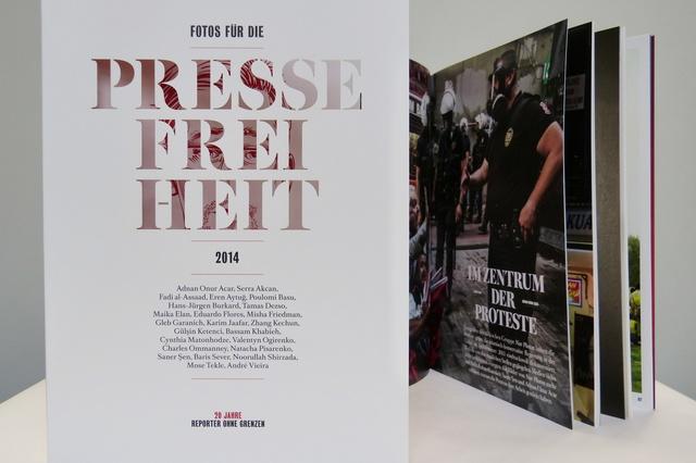 Fotos für die Pressefreiheit 2015