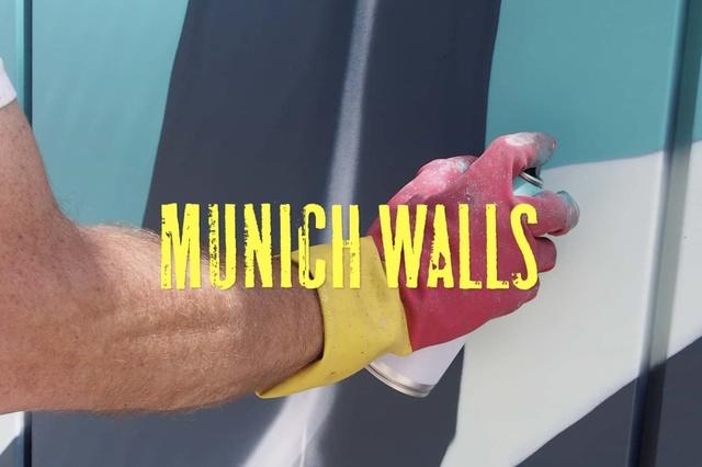 MUNICH WALLS – Urban Art auf Münchens Wänden