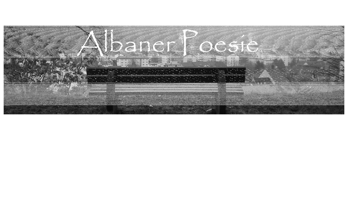 Albaner Poesie