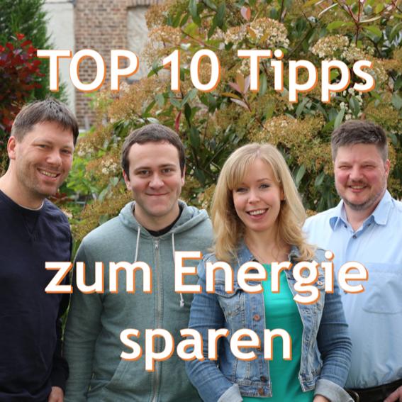 10 Tipps zum Energie sparen