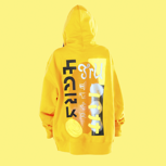 Ksti Hu – limited hoodie »fellow in yellow«