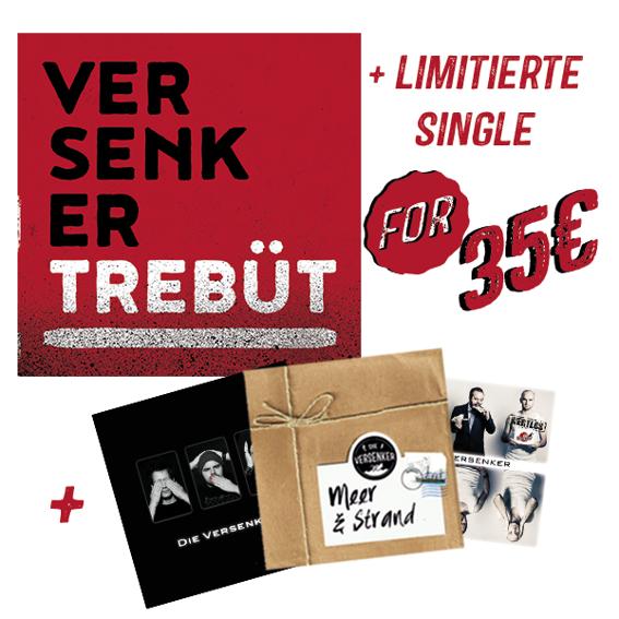 Komplette Diskographie + limitierte Single (5 CDs)