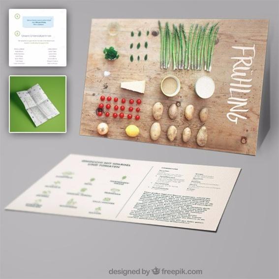 Rezeptkarten, Saisonkalender & Virtuelle Spendentafel
