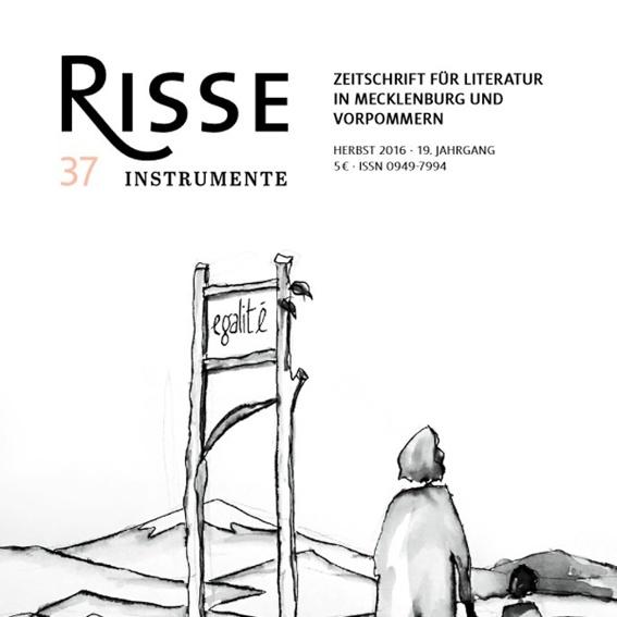 Jahresabo 'Risse - Zeitschrift für Literatur in MV'