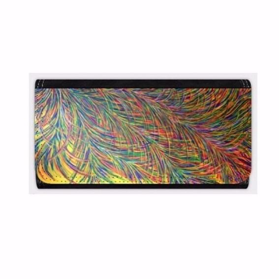 Geldbörse/Brieftasche mit Sonnenfedern