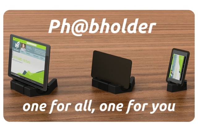 Phabholder - the smart placement area for your smartphone, tablet ...