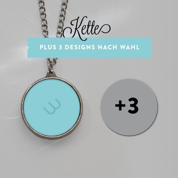 Kette mit 3 Designs (Einführungspreis!)