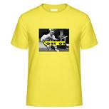 """1 x T-Shirt """"Come on"""" (mit Motiv und WaveFont-Aufschrift)"""