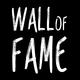 Kunstvoll im Laden verewigt - Wall of Fame