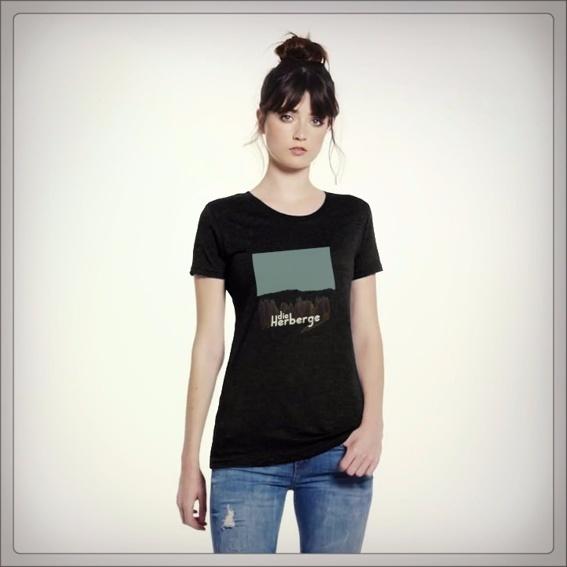 T-Shirt mit Motiv von Die Herberge