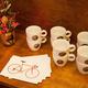 10 x Kaffee oder ein Set mit 12 Postkarten