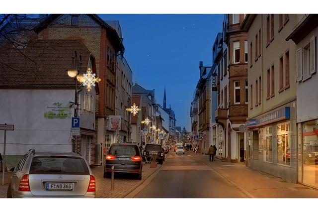 Weihnachtsbeleuchtung für Fechenheim