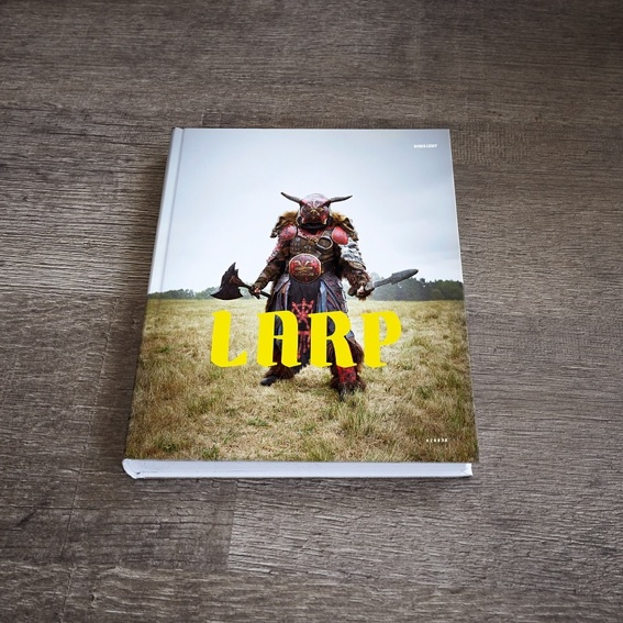 The LARP Book, signed by the artist + Fine-Art-Print printed on A3 Hamemuehle Photorag Ultra Smooth 305g, numbered and signed by the artist, framed