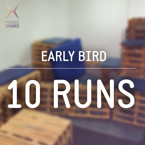 10 Runs + Training - Early Bird