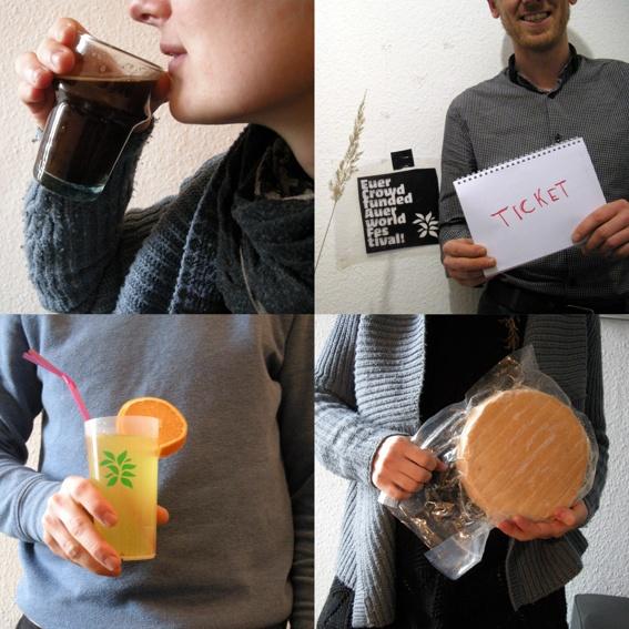 Feinschmeckerpaket (Ticket & Bio-Käse & Fairtrade-Kaffee & Cocktail)