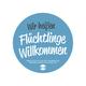 """Stickerpaket """"Flüchtlinge Willkommen"""""""