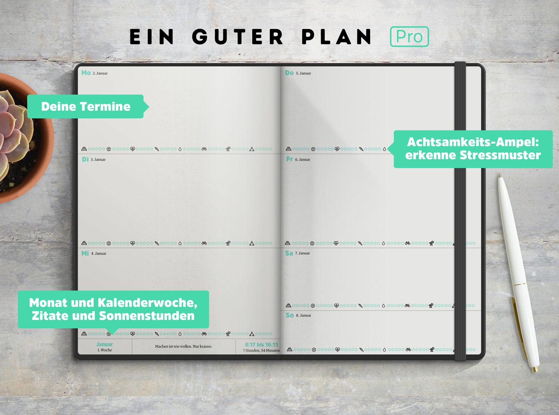 Ein Guter Plan Pro