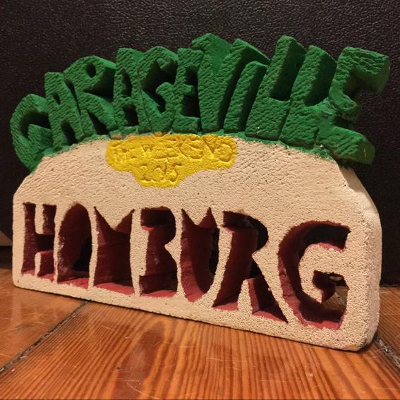 Skulptur Garageville 2015