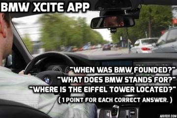 BMW  Xcite  App