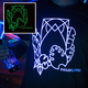 Glow in the Dark T-Shirt (m/f)