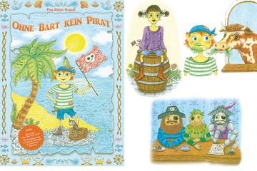 Ohne Bart kein Pirat, Bilderbuch & Kinderlied