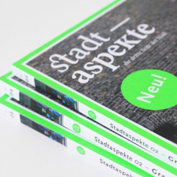 Aktuelle Ausgabe von Stadtaspekte – die dritte Seite der Stadt