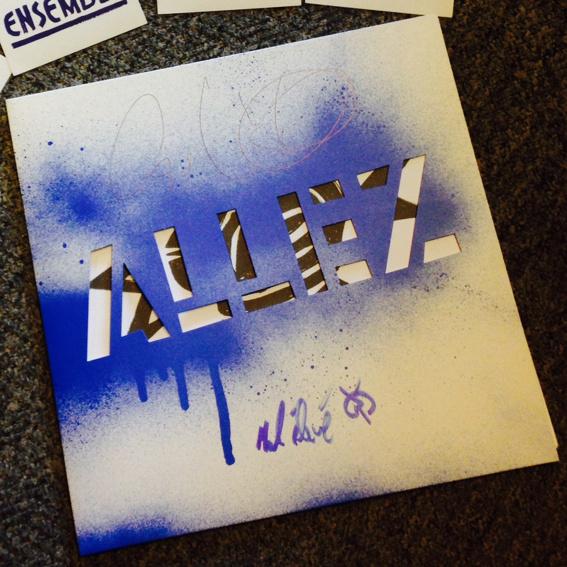 """Irie Révoltés """"Allez"""" Vinyl LP - signiert"""