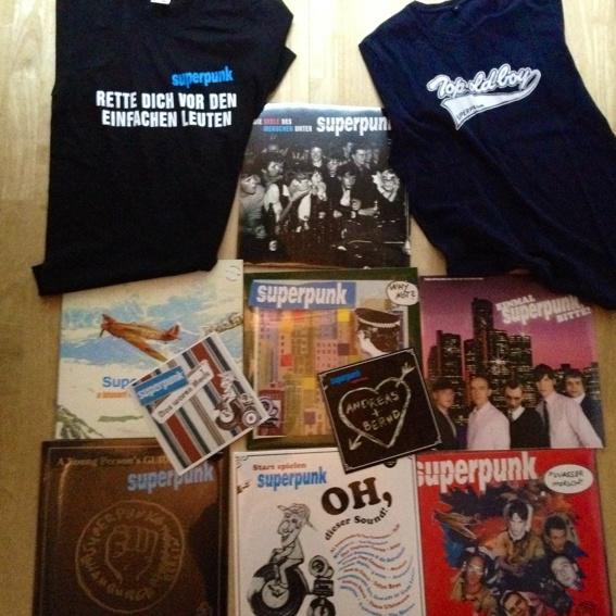 Superpunk Vinyl Paket!
