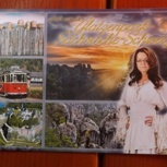 """2* Postkarte """"Glatzenpark Sächsische Schweiz"""""""