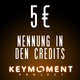 Nennung in den Credits