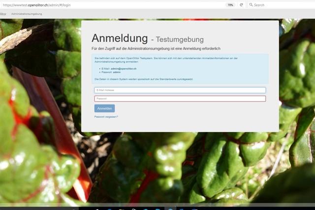 Software für Solidarische Landwirtschaft