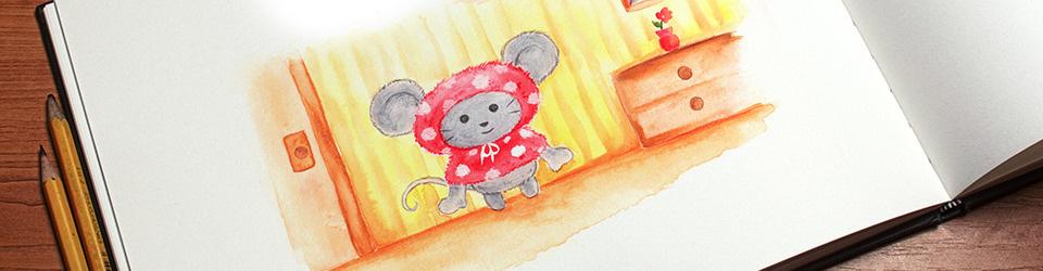 Mimmi Maus fährt nach Berlin – ein Kinderbuch in Reimen