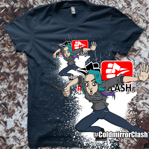 #ColdmirrorClash-Shirt