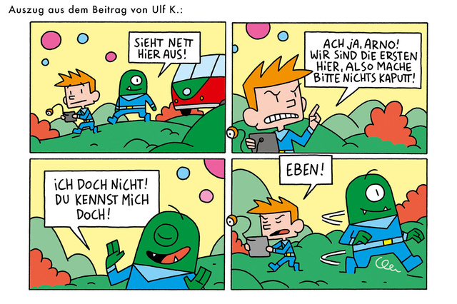 POLLE - das Kindercomic-Magazin!