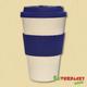 Bambusfaser-Kaffeebecher