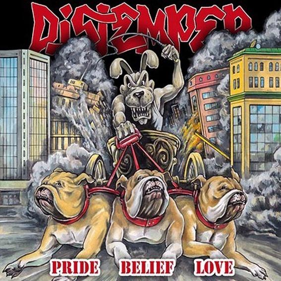 Distemper - Pride Belief Love CD