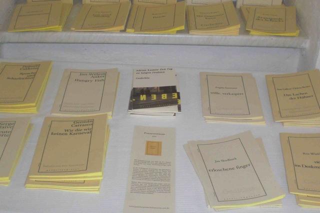 Buchreihe: Junge Lyrik in der Parasitenpresse